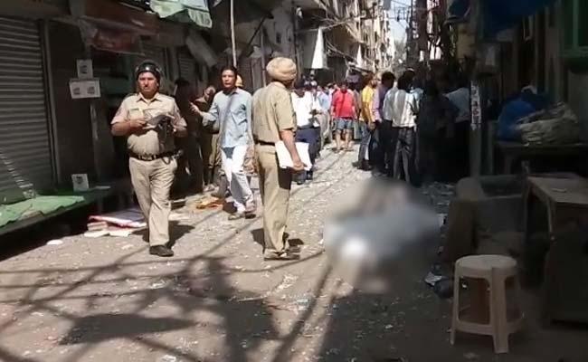ഡല്ഹിയില് സ്ഫോടനം: ഒരാള് കൊല്ലപ്പെട്ടു