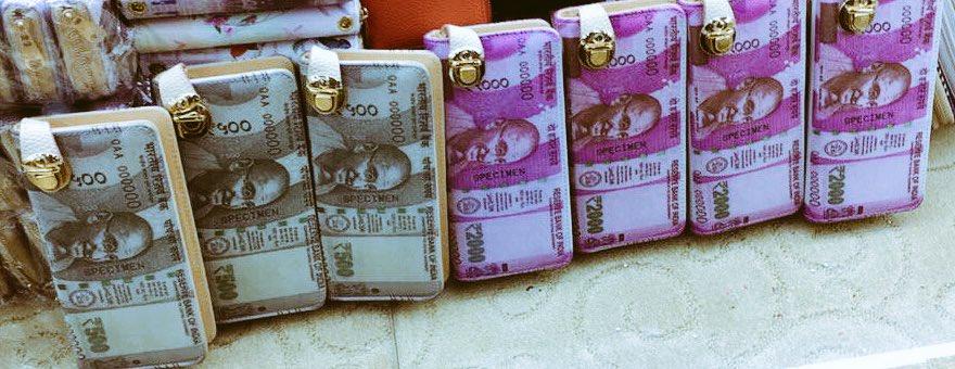 500ന്റെയും 2000ന്റെയും നോട്ട് 'പേഴ്സാക്കി' ചൈന