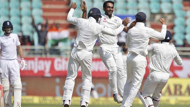 വിശാഖപ്പട്ടണം ടെസ്റ്റ്: 246 റണ്സിന്റെ തകര്പ്പന് ജയം നേടി ഇന്ത്യ