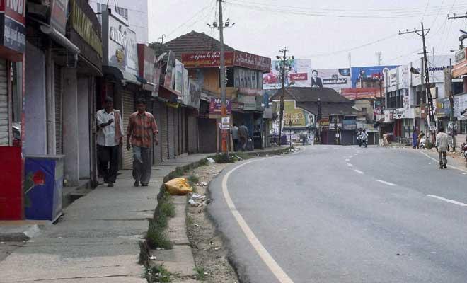 സഹകരണ പ്രതിസന്ധി: സംസ്ഥാനത്ത് തിങ്കളാഴ്ച എല്ഡിഎഫ് ഹര്ത്താല്