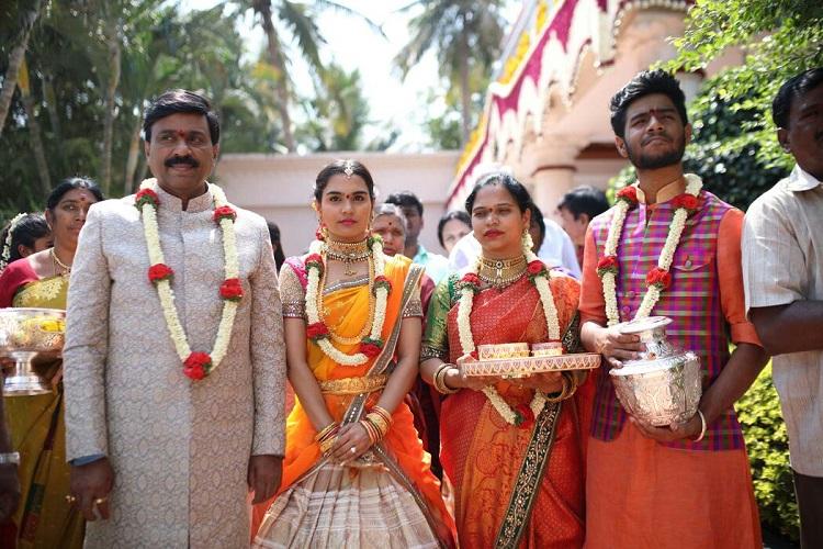 സാരിക്ക് 17 കോടി; ബിജെപി നേതാവിന്റെ മകളുടെ വിവാഹ ചെലവ് 500 കോടി