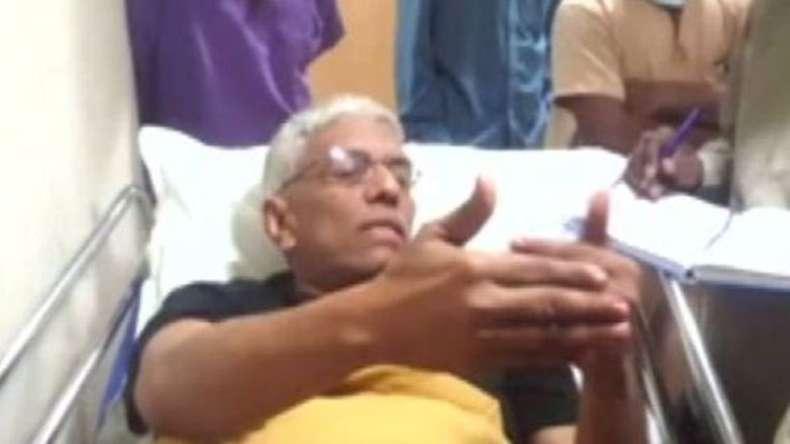 ഹൈദരാബാദില്  ബാങ്ക് മേധാവിക്ക് വെടിയേറ്റു
