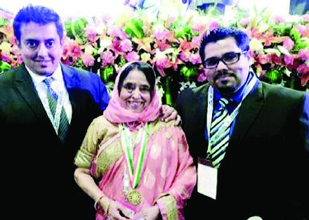 പ്രവാസി ഭാരതീയ പുരസ്കാരം: അഭിമാനത്തോടെ സീനത്ത്
