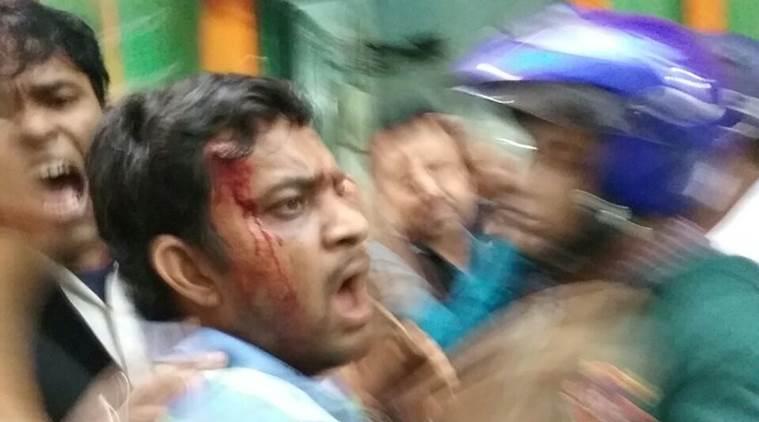 ബിജെപി ഓഫീസ് തൃണമൂല് കോണ്ഗ്രസ് പ്രവര്ത്തകര് അടിച്ചുതകര്ത്തു