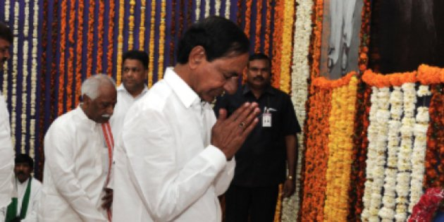 സര്ക്കാര് ഖജനാവ് കാലിയാക്കി  തെലുങ്കാന മുഖ്യമന്ത്രിയുടെ 'നേര്ച്ച'