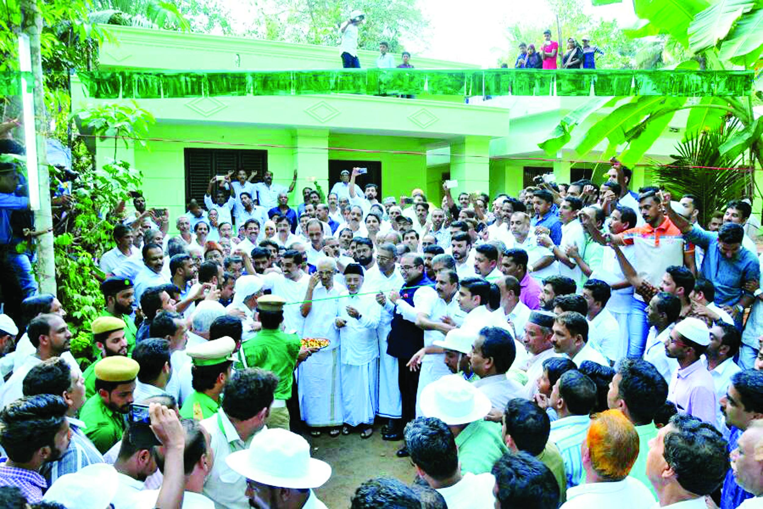 25 കുടുംബങ്ങള്ക്ക് അനുഗ്രഹമായി  ചേലക്കാട് ബൈത്തു റഹ്മ വില്ലേജ് സഫലമായി
