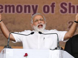 'ബി.ജെ.പി വിജയത്തിന്റെ നട്ടെല്ല് അമിത്ഷാ'; കോണ്ഗ്രസിനെ കടന്നാക്രമിച്ച് മോദിയുടെ പ്രസംഗം