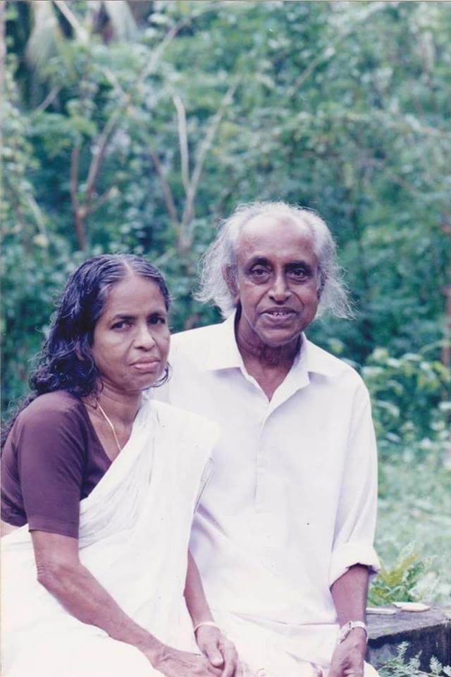പ്രൊഫ. എം.എന്.വിജയന്റെ ഭാര്യ നിര്യാതയായി