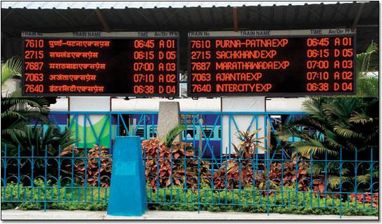 റെയില്വേ: അനൗണ്സ്മെന്റിന് പകരം ഡിജിറ്റല് ഡിസ്പ്ലേ ബോര്ഡുകള് വരുന്നു