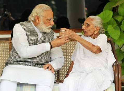 460635-narendra-modi-and-his-mother-twitter