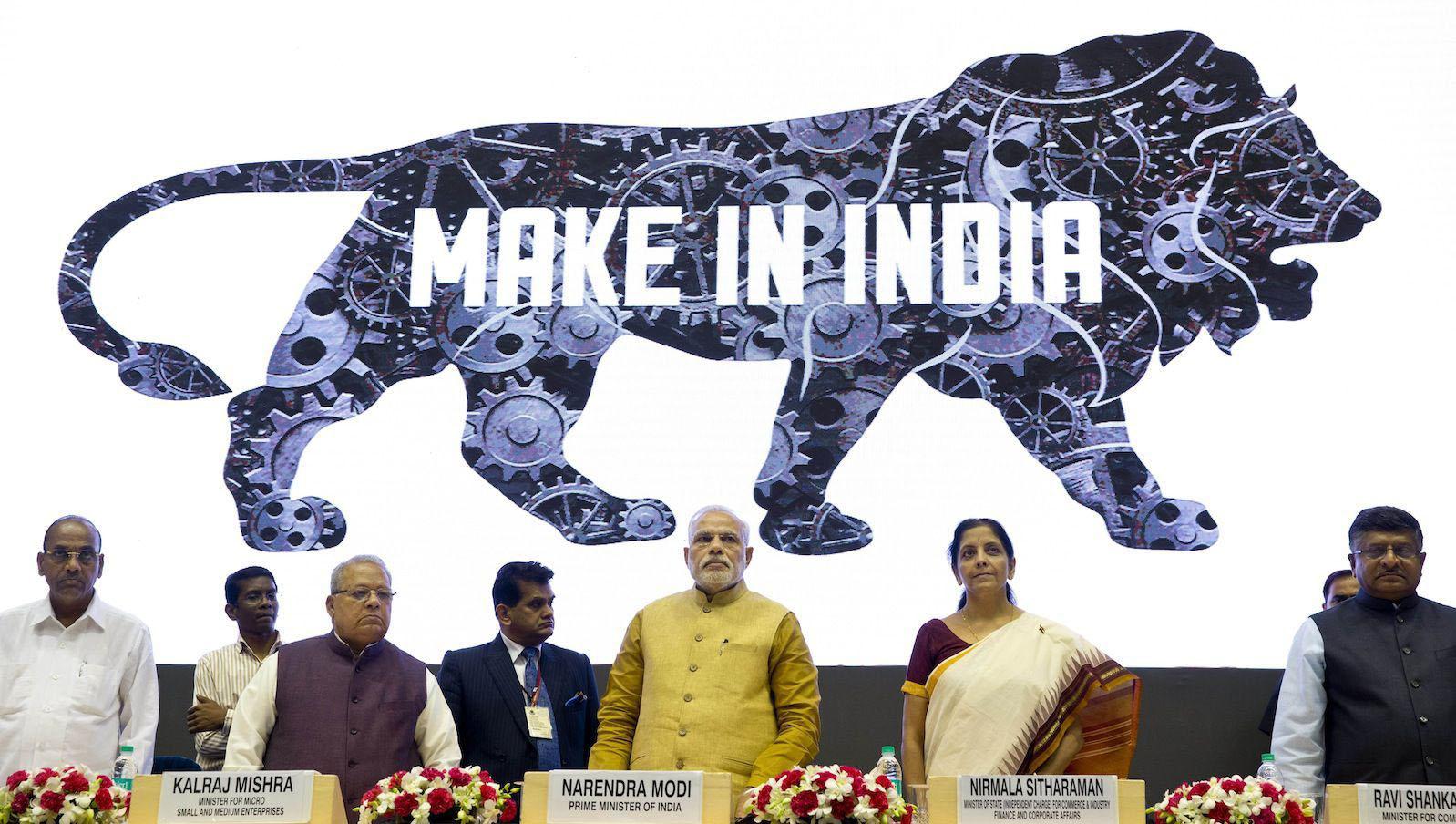 'മെയ്ക് ഇന് ഇന്ത്യ': ചുവപ്പുനാടയില് കുരുങ്ങി  3.5 ലക്ഷം കോടിയുടെ പദ്ധതികള്