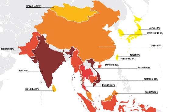 നാണക്കേടിന്റെ റെക്കോര്ഡ്; അഴിമതിയില് ഇന്ത്യ ഒന്നാമത്
