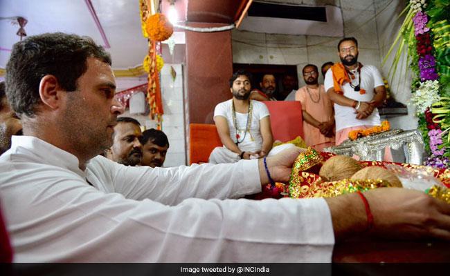 രാഹുല് ഗാന്ധിയുടെ ക്ഷേത്ര സന്ദര്ശനത്തെ വിമര്ശിച്ച് യോഗി ആദിത്യനാഥ്