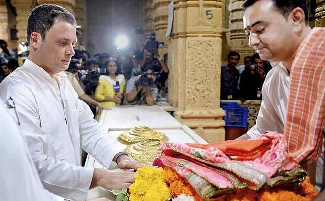 ക്ഷേത്ര സന്ദര്ശനം ബിജെപിക്ക് മറുപടിയുമായി രാഹുല് ഗാന്ധി