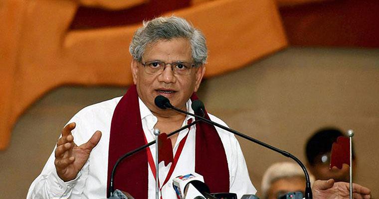 ശുഹൈബ് വധം: സംസ്ഥാന സമ്മേളനത്തില് പ്രതികരിക്കുമെന്ന് സീതാറാം യെച്ചൂരി