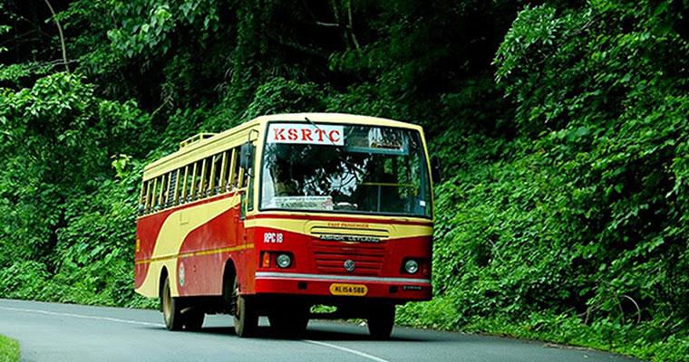 കെ.എസ്.ആര്.ടി.സിബസ്സില് നിന്ന് യാത്ര ചെയ്യുന്നത് ഹൈക്കോടതി വിലക്കി