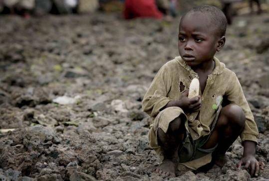 വംശീയ യുദ്ധം : കോംഗോയിലെ 20 ലക്ഷം കുട്ടികള് പട്ടിണിയുടെ പിടിയില്