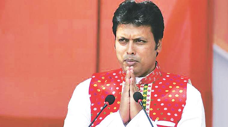 ത്രിപുര ബി.ജെ.പി മന്ത്രിസഭയില് കലഹം; മൂന്നുമാസത്തിനുള്ളില് പ്രശ്നങ്ങള് പരിഹരിക്കണമെന്ന് സഖ്യകഷിയുടെ താക്കീത്