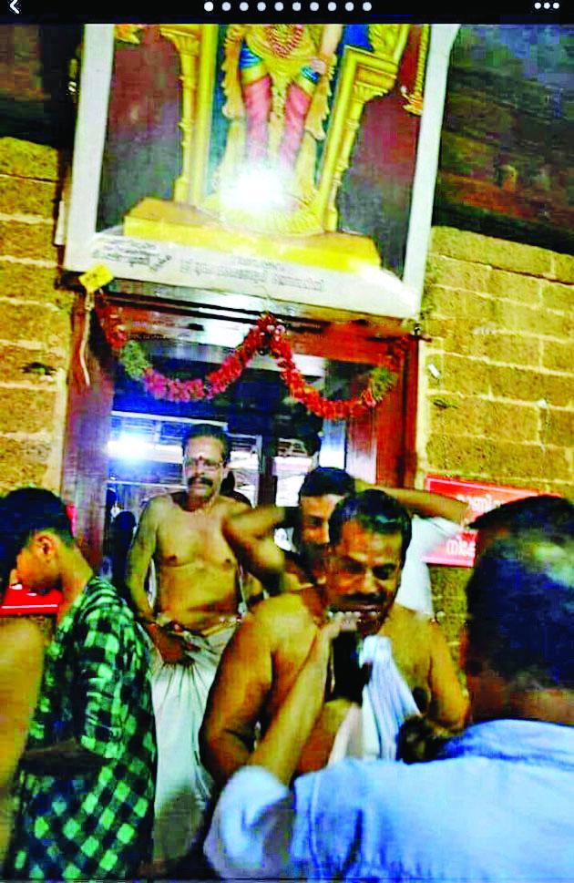 ക്ഷേത്ര ദര്ശനം: ഇ.പി ജയരാജന്  വീണ്ടും വിവാദത്തിലേക്ക്