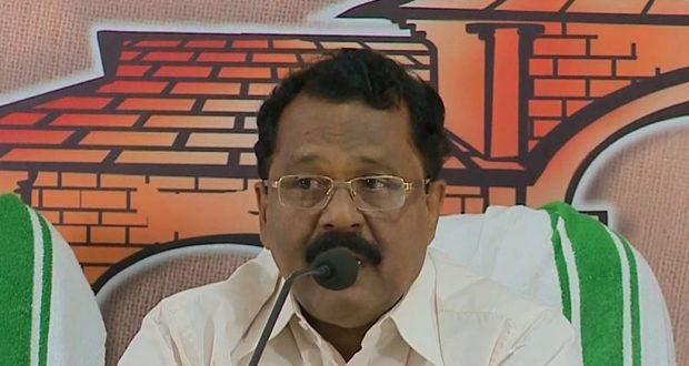 പി.എസ്.ശ്രീധരന് പിള്ള ബി.ജെ.പി സംസ്ഥാന പ്രസിഡണ്ട്