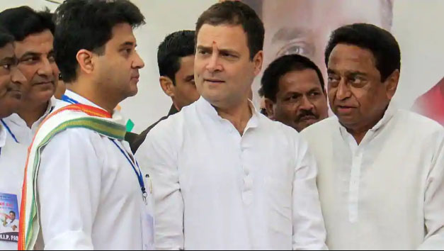 മധ്യപ്രദേശത്തില് ബി.ജെ.പിക്ക് തിരിച്ചടി; കോണ്ഗ്രസിന് പിന്തുണയുമായി ആറ് പാര്ട്ടികള്