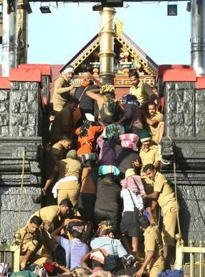 ശബരിമല: പോലീസിനെ വിമര്ശിച്ച് ഹൈകോടതി