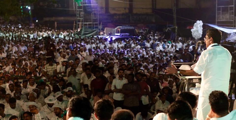 യുവജനയാത്രാ വേദിയില് ഡി.ജി.പി ബെഹ്റയ്ക്കെതിരെ ഗുരുതര ആരോപണവുമായി മുല്ലപ്പള്ളി രാമചന്ദ്രന്