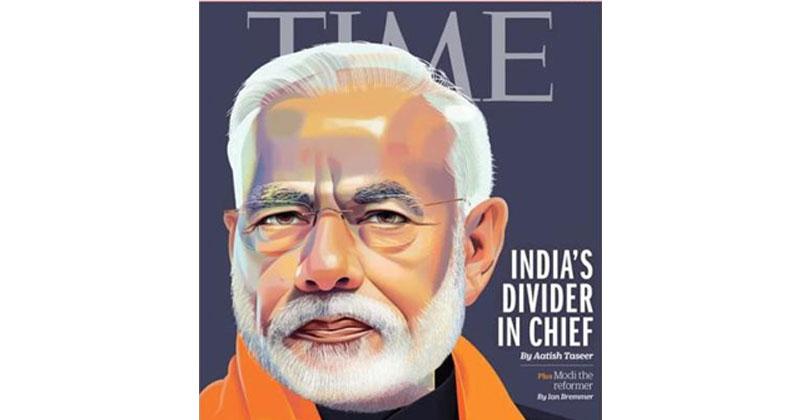 നരേന്ദ്രമോദിയെ അന്ന് വാഴ്ത്തി, ഇന്ന് 'ഇന്ത്യയെ ഭിന്നിപ്പിച്ച പരമാധികാരിയെന്ന് വിശേഷിപ്പിച്ചു': മോദിക്കെതിരെ രൂക്ഷവിമര്ശനവുമായി ടൈം മാഗസിന്